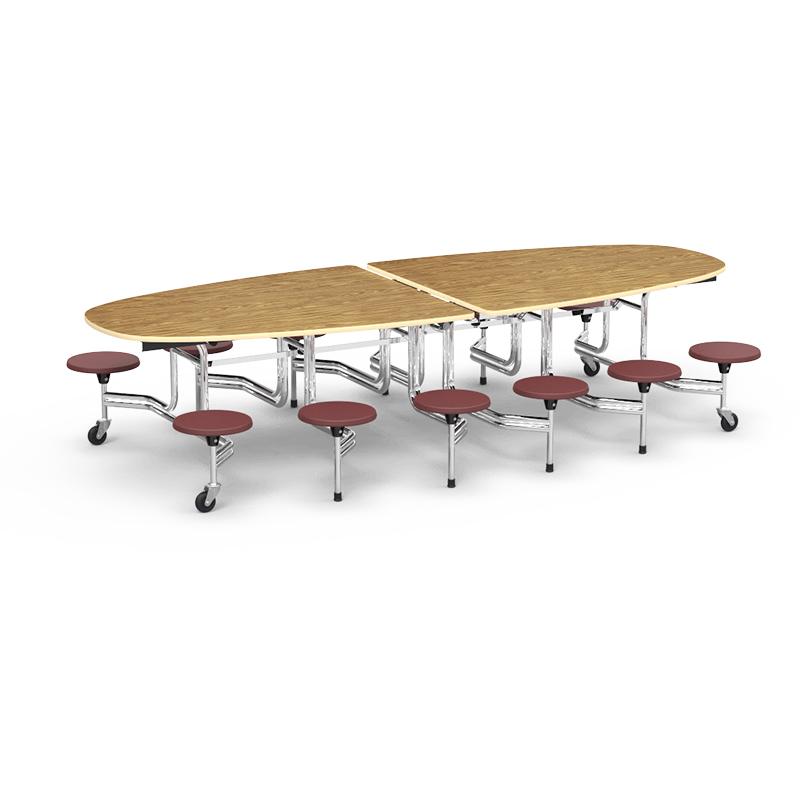 Cafeteria Table MTS140-12 Seats